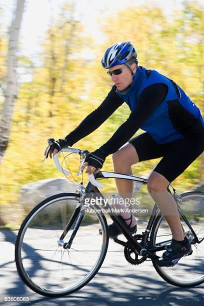 Male cyclist.