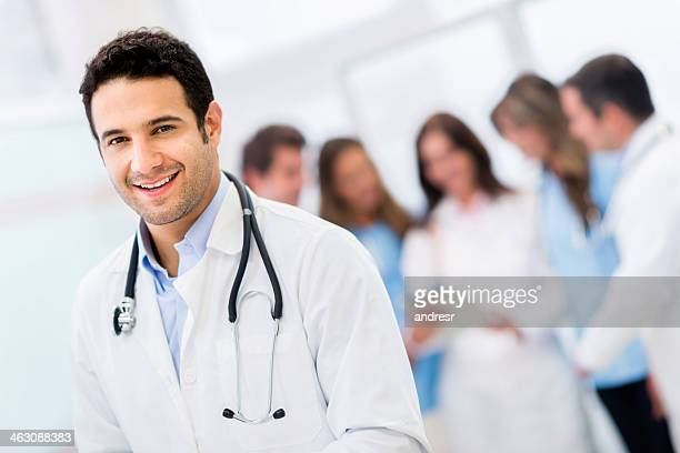 male doctor at hospital