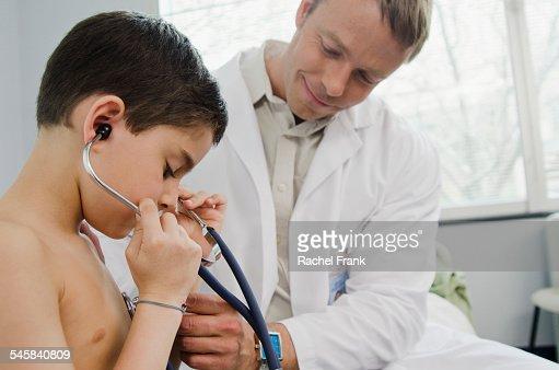 Doctor checks guys ass and school 6