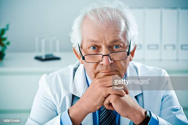 Männlichen Arzt, Porträt
