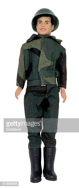 male doll in a soldiers outfit