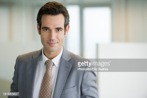 Male executive, portrait : Stock Photo