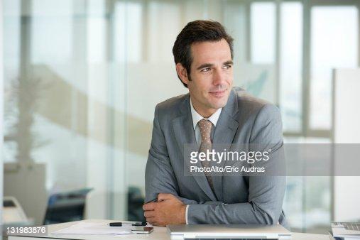 Male executive, portrait