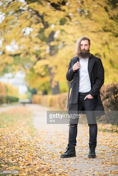 Männliche Mode, Herbst Farben