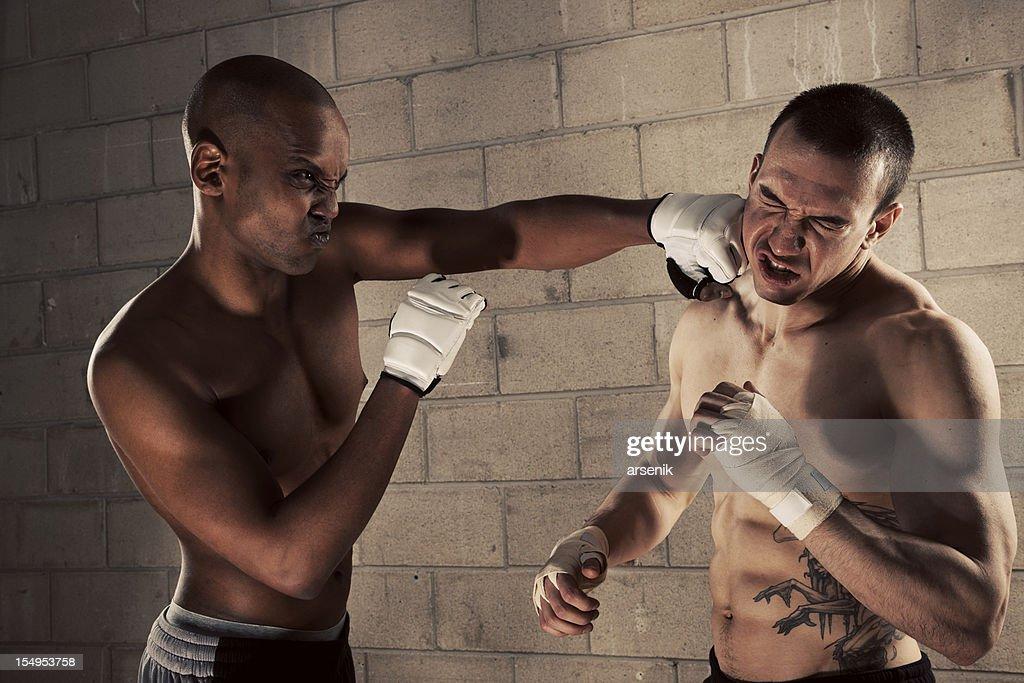 Male Fight Club : Stock Photo