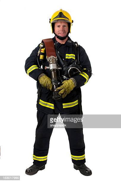 Male fire fighter