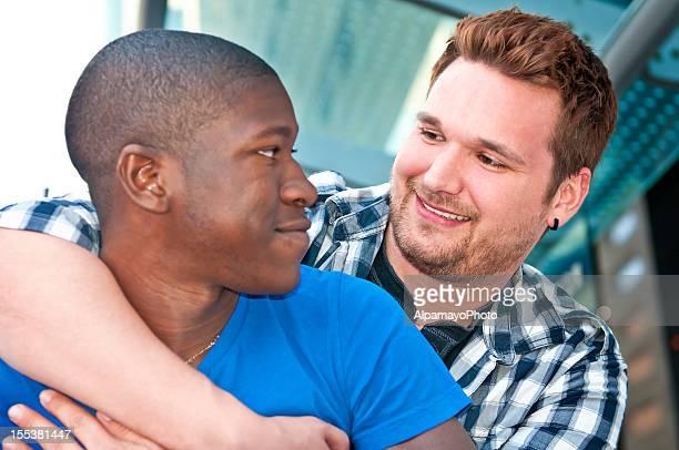 Männliche gay paar-III