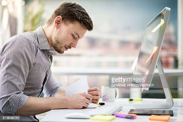 Männer Grafik Designer