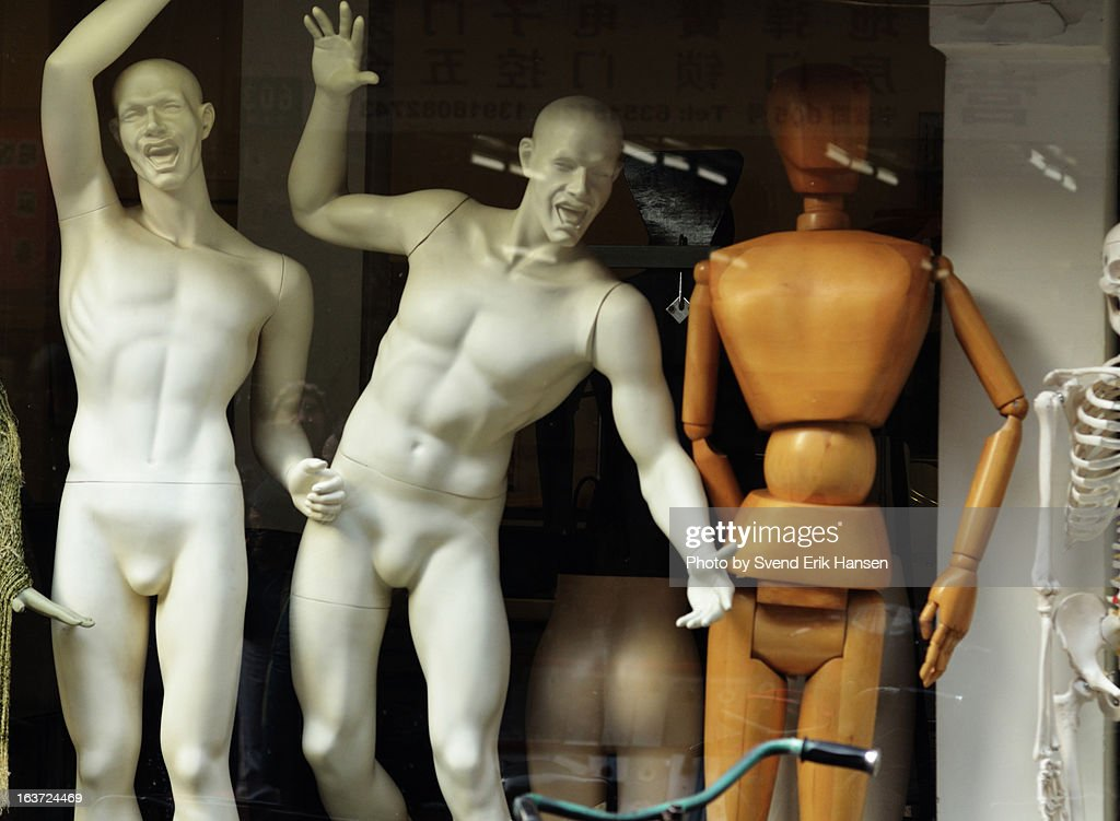 Male mannequins : Stock Photo