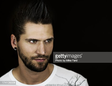 Male model portrait : Stock Photo