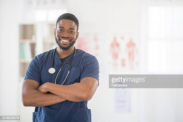 Male Nurse at the Hospital