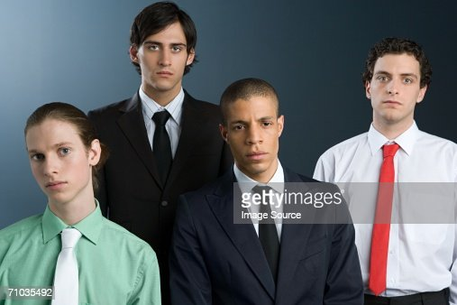 Male office workers : Stock Photo