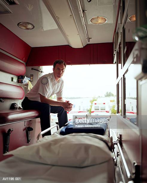 Inside An Ambulance Stock Photos and Pictures | Getty Images