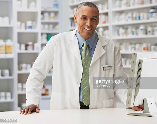 Male pharmacist