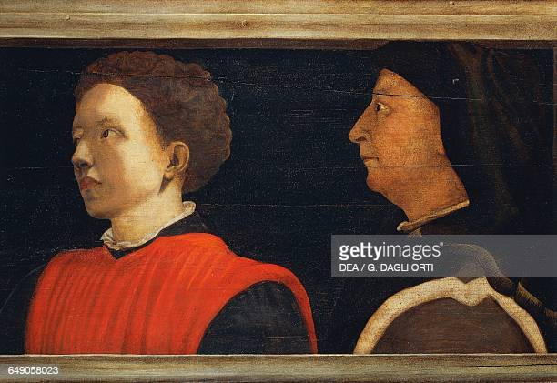 Male portraits probably of Antonio Manetti and Filippo Brunelleschi detail from Five Masters of the Florentine Renaissance 16th century by an...