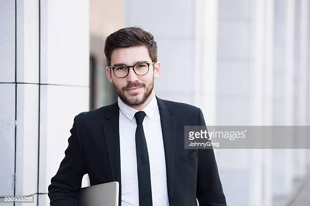 Male professional business executive portrait