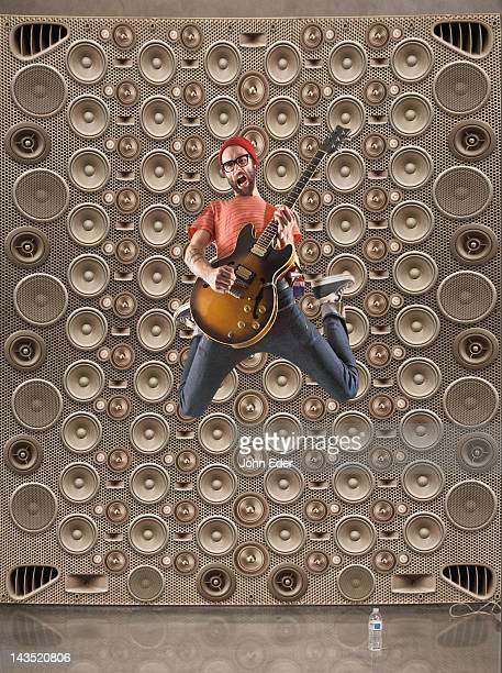Male Rocker With Speakers