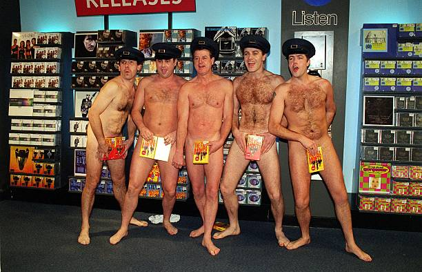 Male Stripper Group 34