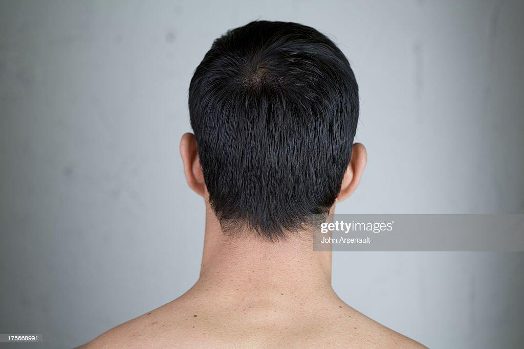male, studio, real person, unrecognizable : Stock Photo