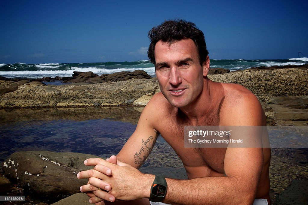 Male Surfer of the Year <a gi-track='captionPersonalityLinkClicked' href=/galleries/search?phrase=Joel+Parkinson&family=editorial&specificpeople=234875 ng-click='$event.stopPropagation()'>Joel Parkinson</a> poses on February 19, 2013 in Newcastle, Australia. Australia's four world champion surfers are in Sydney to celebrate Surfing Australia's 50th anniversary.