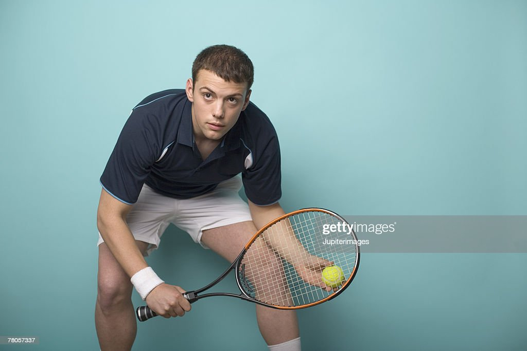 Male tennis player : Stock Photo
