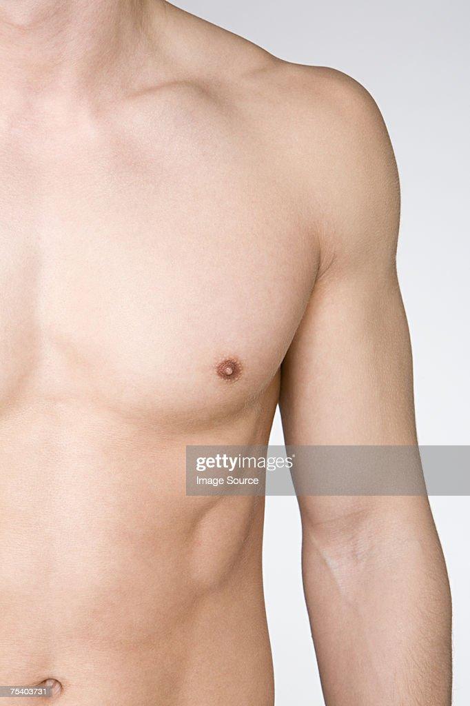 Male torso : Stock Photo