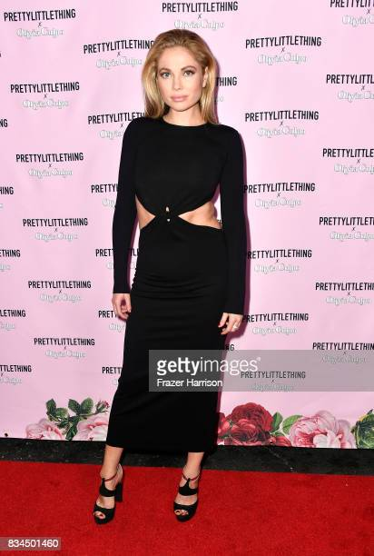 Malea Rose attends PrettyLittleThing X Olivia Culpo Launch at Liaison Lounge on August 17 2017 in Los Angeles California