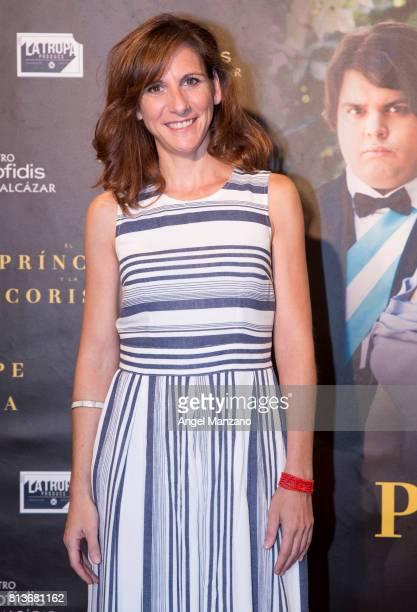 Malena Alterio attends 'El Principe Y La Corista' Madrid Premiere on July 10 2017 in Madrid Spain