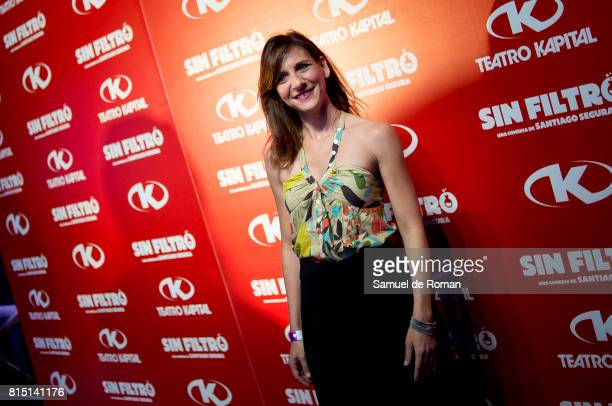 Malena Alterio during 'Sin Filtro' Party in Madrid on July 15 2017 in Madrid Spain