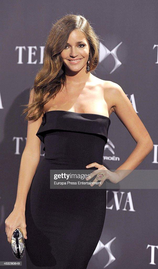 Malena Costa attends 2013 Telva Fashion Awards on December 2 2013 in Madrid Spain