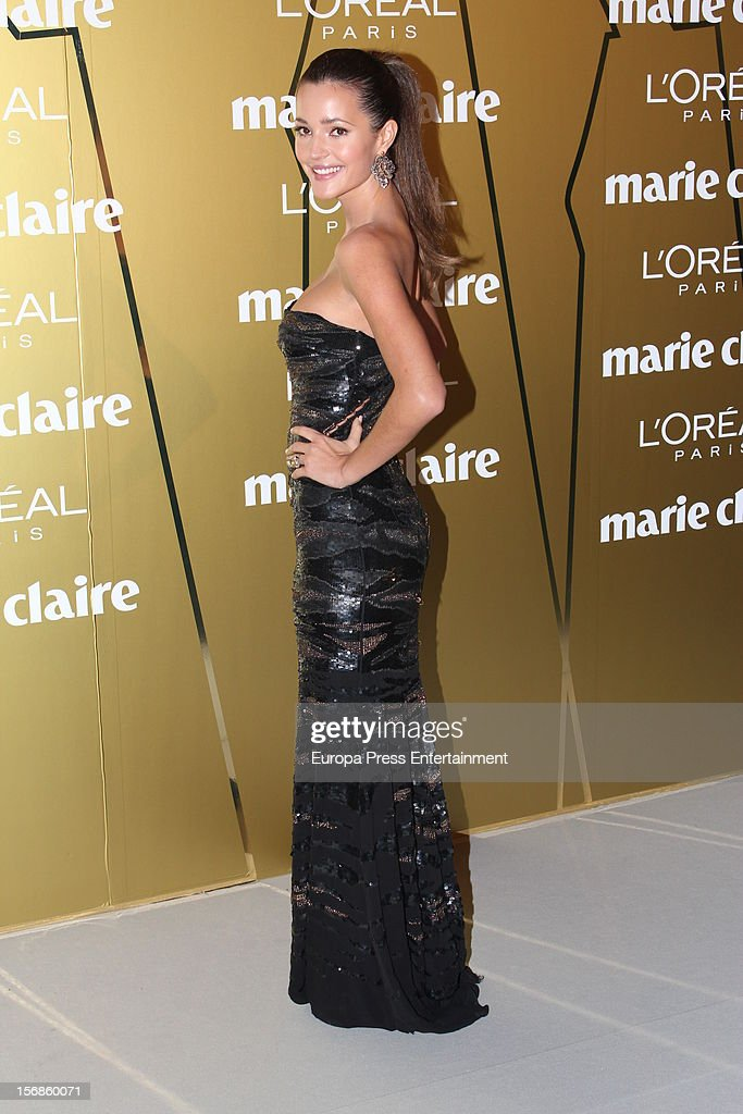 <a gi-track='captionPersonalityLinkClicked' href=/galleries/search?phrase=Malena+Costa&family=editorial&specificpeople=5723369 ng-click='$event.stopPropagation()'>Malena Costa</a> attends Marie Claire Prix de la Moda Awards 2012 on November 22, 2012 in Madrid, Spain.