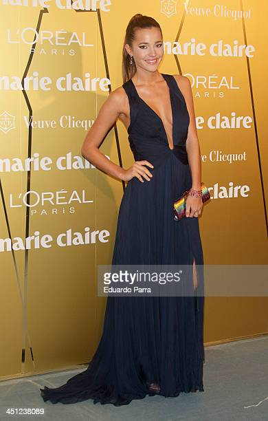 Malena Costa attends 'Marie Claire Prix de la moda' awards 2013 photocall at Residence of France on November 21 2013 in Madrid Spain
