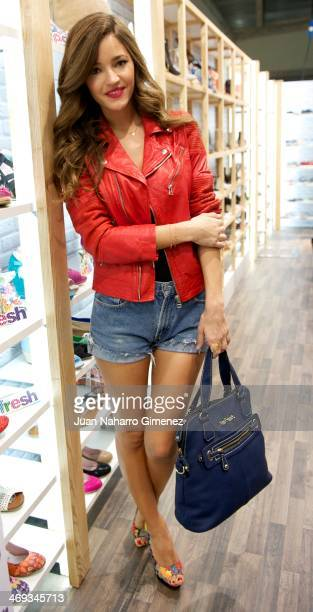 Malena Costa attends New Refresh Campaign presentation at Ifema on February 14 2014 in Madrid Spain