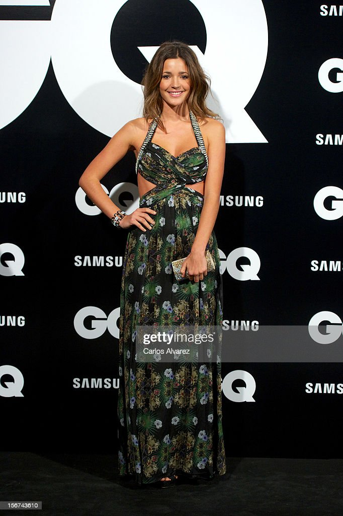 Malena Costa attends the GQ Men Of The Year award 2012 at the Ritz Hotel on November 19, 2012 in Madrid, Spain.