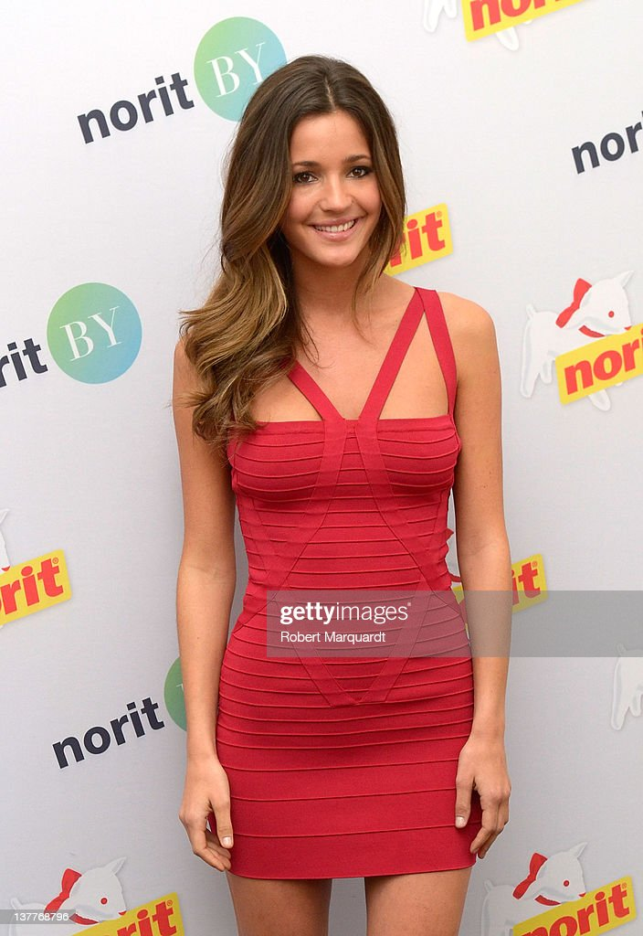 Malena Costa attends the presentation of the 'Norit By' collection on January 26 2012 in Barcelona Spain