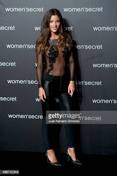Malena Costa attends to the presentation of the Women'secret videoclip at La Riviera on November 11 2015 in Madrid Spain
