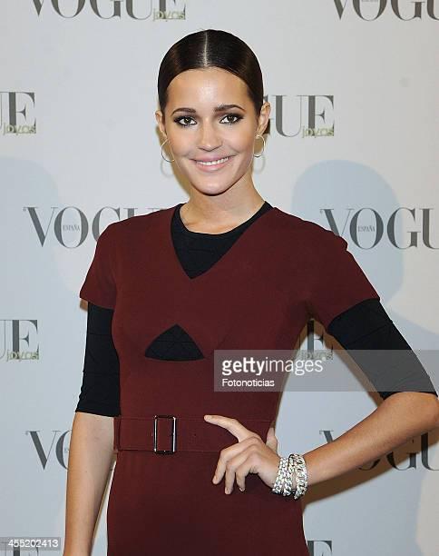 Malena Costa attends Vogue Joyas 2013 Awards at the Palacio de la Bolsa on December 11 2013 in Madrid Spain
