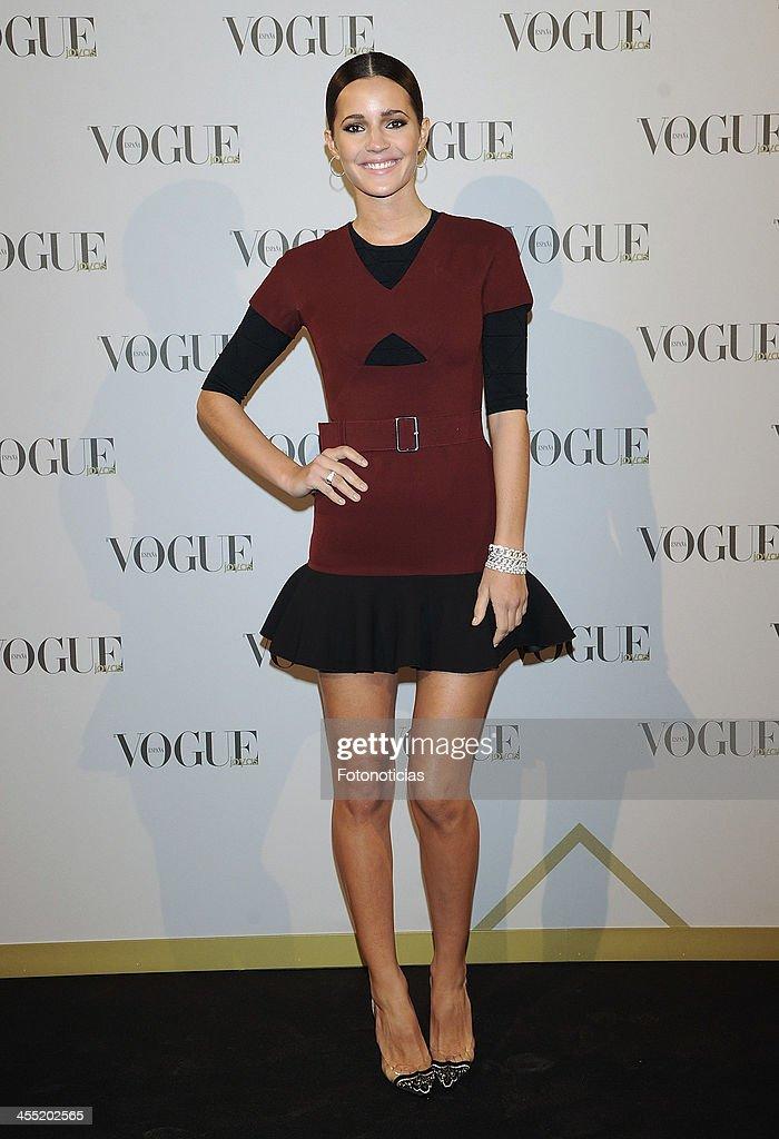 Malena Costa attends Vogue Joyas 2013 Awards at the Palacio de la Bolsa on December 11, 2013 in Madrid, Spain.