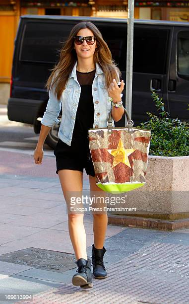 Malena Costa is seen on May 28 2013 in Madrid Spain