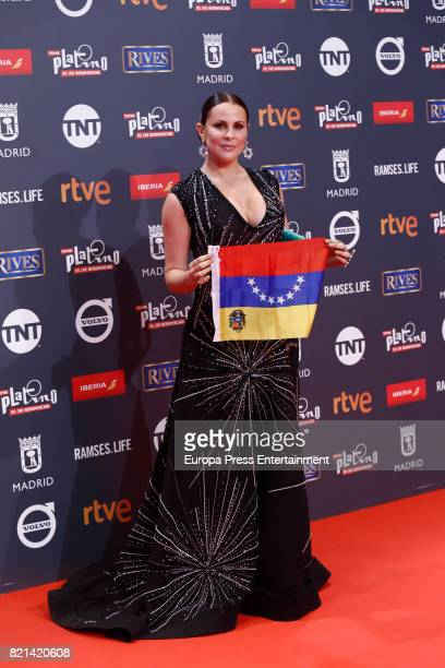 Malena Gonzalez attends Platino Awards 2017 at La Caja Magica on July 22 2017 in Madrid Spain