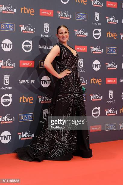 Malena Gonzalez attends the Platino Awards 2017 photocall at the La Caja Magica on July 22 2017 in Madrid Spain
