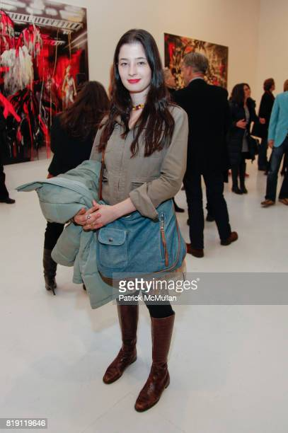 Malena Negrao attends Rosson Crow BOWERY BOYS Opening at Deitch on March 4 2010 in New York City