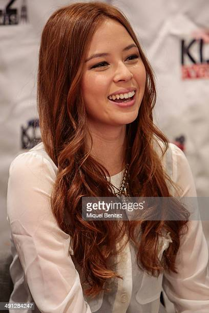 Malese Jow attends the 'BloodyNightCon 4' press conference on May 16 2014 in Barcelona Spain