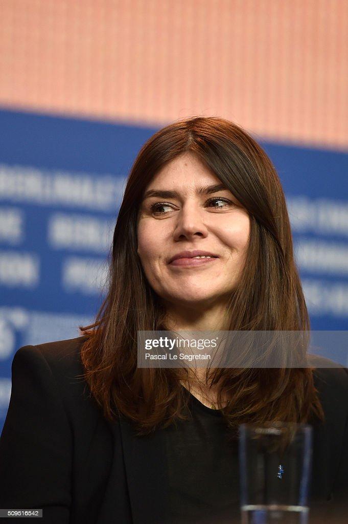 Malgorzata Szumowska attends the International Jury press conference during the 66th Berlinale International Film Festival Berlin at Grand Hyatt Hotel on February 11, 2016 in Berlin, Germany.