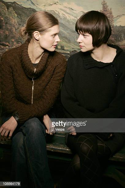 Malgosia Bela and Malgorzata Szumowska director during 2005 Sundance Film Festival 'Stranger ' Portraits at HP Portrait Studio in Park City Utah...