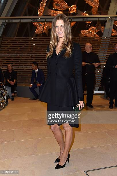 Malgosia Bela attends a Cocktail for the opening of 'Icones de l'Art Moderne La Collection Chtchoukine'at Fondation Louis Vuitton on October 20 2016...