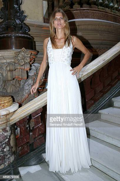 Malgosia Bela attends the Ballet National de Paris Opening Season Gala at Opera Garnier on September 24 2015 in Paris France