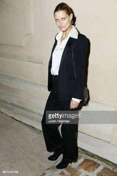 Malgosia Bela attends the Chanel 'Code Coco' Watch Launch Party as part of the Paris Fashion Week Womenswear Spring/Summer 2018 on October 3 2017 in...