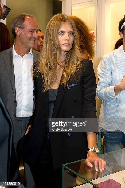 Malgosia Bela attends Vogue Fashion Night Out 2012 on September 6 2012 in Paris France