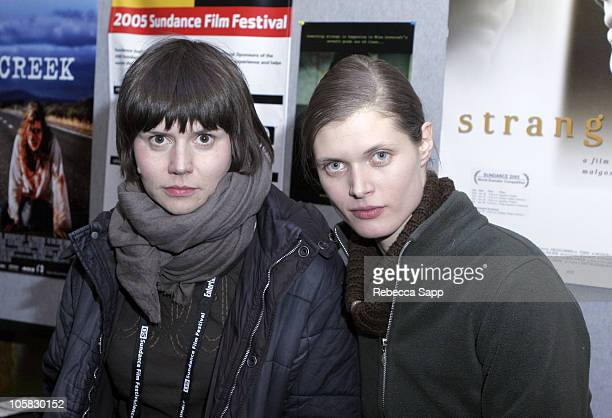Malgosia Szumowska director of 'Stranger' and Malgosia Bela actress starring in 'Stranger'